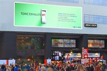 Urban Vision launches air-cleaning billboards in London