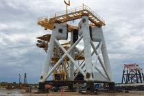 Gallery: Block Island foundations underway