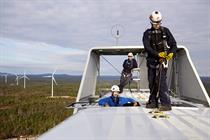 Gallery: First Wind up-turbine maintenance