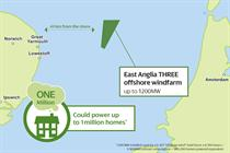 East Anglia Three approved by UK