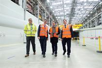 Siemens opens UK blade site