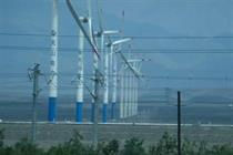 Chinese wind output falls in 2014