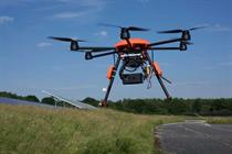 Bouygues enters market to sell wind turbine drone service