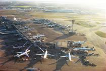 At the hub of air travel