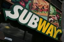 Subway calls in help over Government's 'pasty tax' U-turn