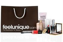 House lands feelunique.com beauty brief
