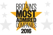 Britain's Most Admired Companies 2016: The shortlist