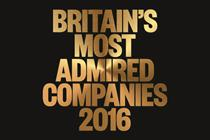 ARM is Britain's Most Admired Company 2016