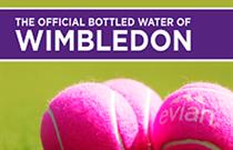 Evian reveals new Wimbledon campaign