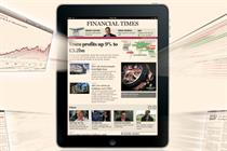 FT iPad app proves more popular than its iPhone app
