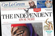 Independent on Sunday's readership drops by a quarter says NRS