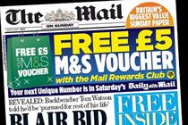 Mail on Sunday targets NotW readers with major DM push