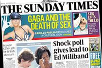 The Sunday Times to put up cover price to £2.20