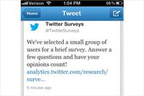 Twitter rolls out survey tool for advertisers