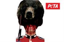 Go Ahead buses bans Peta bear fur campaign