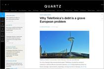 Quartz editor 'confident in the ad-funded model'