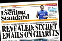 The London Evening Standard to raise distribution