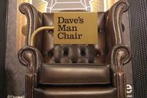 Dave to install 'man chairs' in Burton Menswear