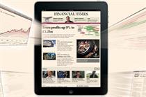 FT adds Weekend supplements to iPad app