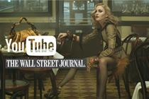 YouTube signs up Madonna and Wall Street Journal for channels venture