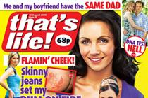 MAGAZINE ABCs: Double-digit drops hit That's Life! and Love It!