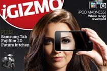 Dennis Publishing's iGizmo iPad app tops Apple charts