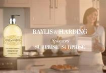 Baylis & Harding to sponsor 'Surprise Surprise'