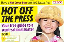 Tesco runs cinnamon-scented supplement in Daily Mirror