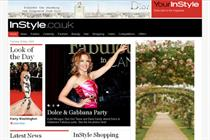 InStyle website has a makeover