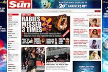 Sun website traffic little moved by Sunday print launch