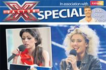 Iceland partners with News of the World for X Factor pull-out
