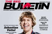 Red Bull magazine swaps Indy  for Sunday Telegraph