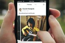 Facebook mobile revenues double