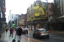 BlowUp Media launches giant poster site in Manchester