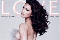 Condé Nast publishes fourth edition of Love with nude Kelly Brook
