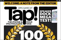 Future's Tap! magazine creates own iPad app
