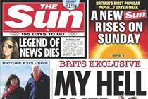 Saturday Sun cut to 50p to match Sunday edition