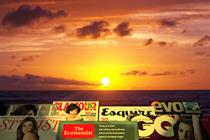 Sunrise or sunset for magazines?