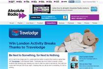 Absolute Radio kicks off Travelodge activity