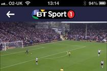 BT Sport app to pass 1m downloads