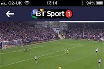 BT Sport app to pass 1m downloads