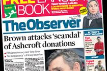 NEWSPAPER ABCs: The Observer bows out with 16% drop before revamp
