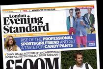 Evening Standard halves losses