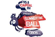 ASOS.com to sponsor Summertime Ball