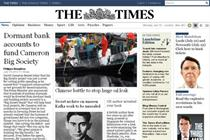Times site traffic falls by two-thirds following paywalls