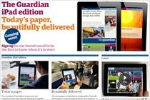 Channel 4 to sponsor Guardian iPad app
