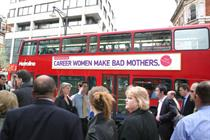 'Career women make bad mothers' slogan fronts new outdoor push