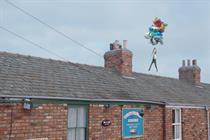 Freeview balloons hit 'Corrie' and 'Deal Or No Deal' sets
