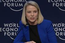 Davos: Yahoo boss Marissa Mayer says Internet of Things will create 'tipping point'