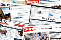 NEWSPAPER ABCs: Record traffic for Mirror in June ahead of Sun paywall